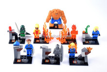 SY167 FANTASTIC FOUR Building Bricks Blocks Sets Marvel Figures Minifigure Toys Gift Compatible With Lego