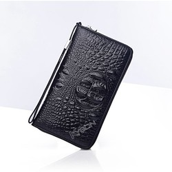 Promotion new design leather stock men clutch bags