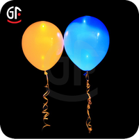 New Year Party Decoration Cheap Custom Logo Printed Flashing Led Balloons