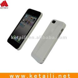 hard pc plain transparent phone case for iphone 5