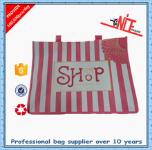 Fashion plastic shopping bag factory reusable folding shopping bag shopping tote bag