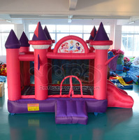 jumper castle Kindergarten UL Kingdom Inflatable Bounce House for sale Castle Moonwalk With Pool