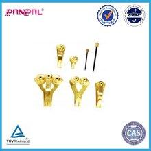 27 pcs Professional Picture Hanger Value Pack, Brass, Professional Picture Hook kit