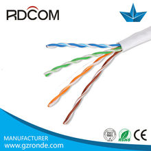 4pr 24awg oxygen-free copper wire UTP Cat5e lan cable manufacturing,Cat5e cable direct buy China
