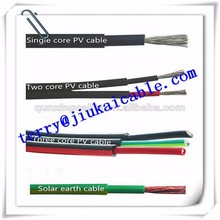 tuv approved single core 1x4mm pv cable pv solar panel