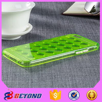 Supply all kinds of tpu case pc,soft tpu for iphone 6,multi-color edge grid tpu case for iphone 5s 5