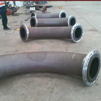 large diameter UHMWPE/polyethylene/plastic pipe elbow/bender