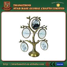 New design family tree shape metal photo frame