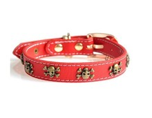 Attractive price high quality leather dog collar