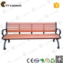 Eco-freindly special durable all-weather wpc garden bench