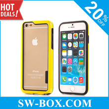 Lively Dual Color TPU Bumper Case For iPhone 6