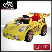 cool boy riding toy car