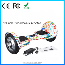 2015 Adult Motor E-Scooter 2 Wheels Motorcycle Balanced skate Electric skateboard balance Scooter