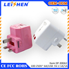 Wholesale colorful EU UK AU US Plug USB Power Home Wall Travel Charger Adapter for iPad iPhone 6 5 5S 5C 4G 4S 3GS Mobile phone
