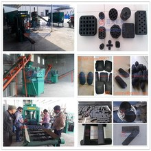 Gongyi Lantian Mechanical Plant hydraulic or mechanical pressure press ball honeycomb coal briquette machine price sell