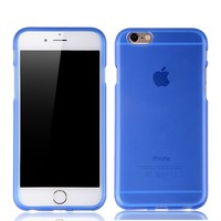 New TPU soft back cover case for iphone6 with different colors