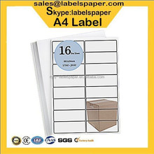 A4 adhesive label, roll blank sticker,color sticker
