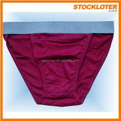 2015 Overstock cotton underwear white briefs men stock, 141208k