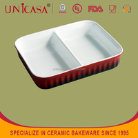 UNICASA personalized rectangular compartment sushi plate and dish
