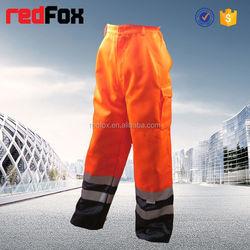 hi vis reflective men's golf rain pants