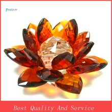 Beautiful Crystal Lotus Flower For Decoration Or Gift