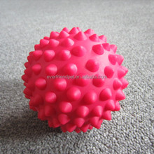 2014 New Spike 9CM Rubber Ball Massage
