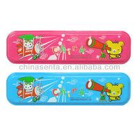 personalized plastic pencil box for school kids