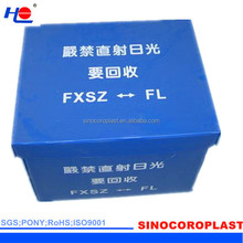 Recyclable Folding PP Corrugated Cases