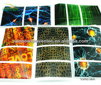 Rainbow Heaven 2014 New Product colored vamo skin for vamo v3/v5 mod WHOLESALE