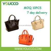 The trend very cheap genuine leather south america original women handbag
