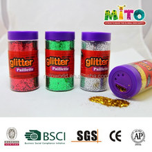 pvc bottle package craft glitter