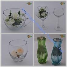 Beaucoup de couleurs fleur décorative vase gros