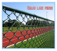 wholesale professional factory PVC coated chain link fence