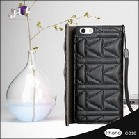 shenzhen fancy smart leather phone case for iphone