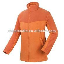 United States winter multi color women fleece varsity jacket