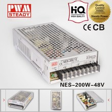 48v 200w NES Series CCTV Camera/LED strips/Elevator power supply unit with CE ROHS approved
