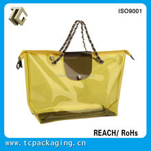 TC14076 new fashion trend jelly beach bag Packaging design