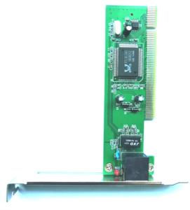 10 / 100Mbps Hızlı Ethernet Ağı PCI LAN Kartı RTL8139D için