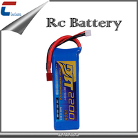 High quality 7.4v 2200mah rc lithium polymer packs 2s 60C rc lipo battery for RC helicopter