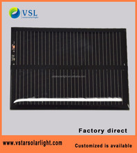 factory direct 0.1-3W customized mini epoxy solar panels with FCC CE RoHS