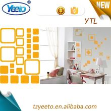 2015 waterproof kids decorative wall stickers,diy wall stickers home decal,special wall clock