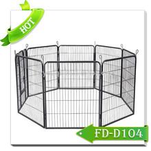 dog playpen with hinger door dog kennel fence panel