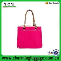 Tote Heavy weight Cotton Canvas Hand Held Shoulder Beach Bag