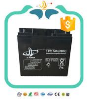 maintenance free rechargeable ups battery 12v20ah, 12v 22ah battery for ups system.