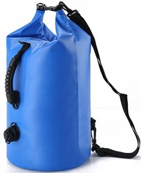 with valve and handle waterproof dry tube bag with strap