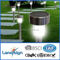 OEM factory 2015 new solar garden light series decorative garden lights type S.S rechargeable solar light tower