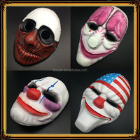 DX-MK-1877 Resin masks handicraft High Quality Small Size Halloween Anime Cosplay Theme Mask