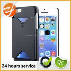 High quality Hard PC cover case for iphone 5c, Smart cell phone case for iphone 5c with card slot