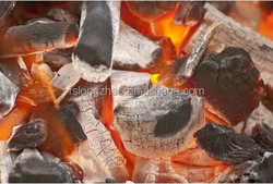 Little ash black wood charcoal bbq lump charcoal barbecue coal