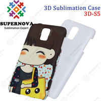 Sublimation design mobile phone back cover for Samsung Galaxy S5
